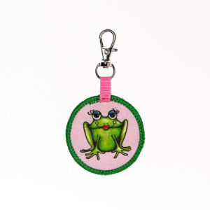 Frog Mini Backpack Keychain