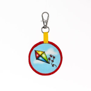 kite Backpack Keychain