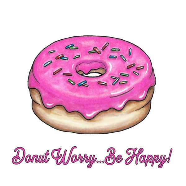 Donut Worry! Greeting Card