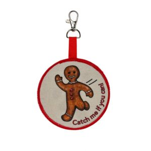 Gingerbread Backpack Keychain